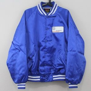 VTG Pla Jac Dunbrooke Rare Blue GE Jacket N174